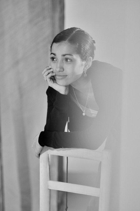 Tänzerin Claudia Ortiz Arraiza