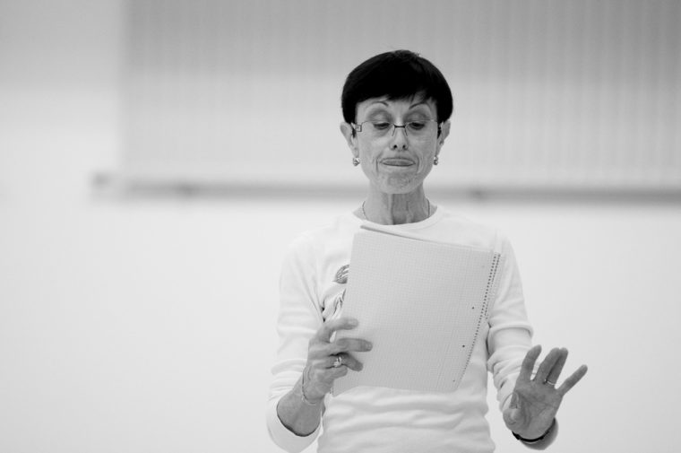 Tänzerin und Choreologin Cherie Trevaskis