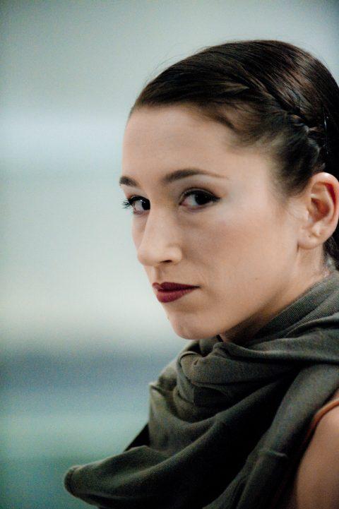 Tänzerin Anna Caviezel